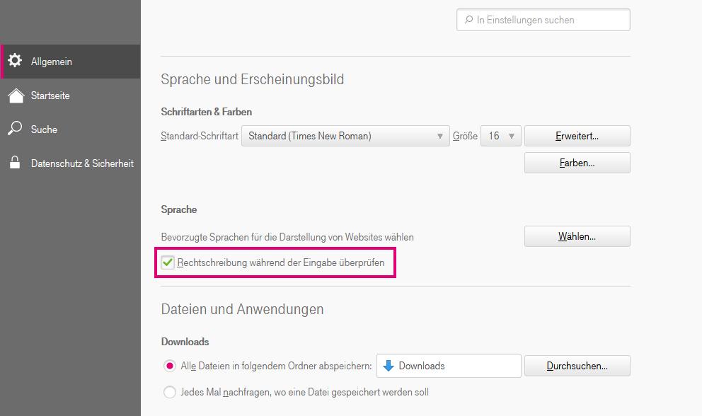 Was ist die Rechtschreibprüfung im Browser 7 und wie kann ich sie aktivieren bzw. deaktivieren?